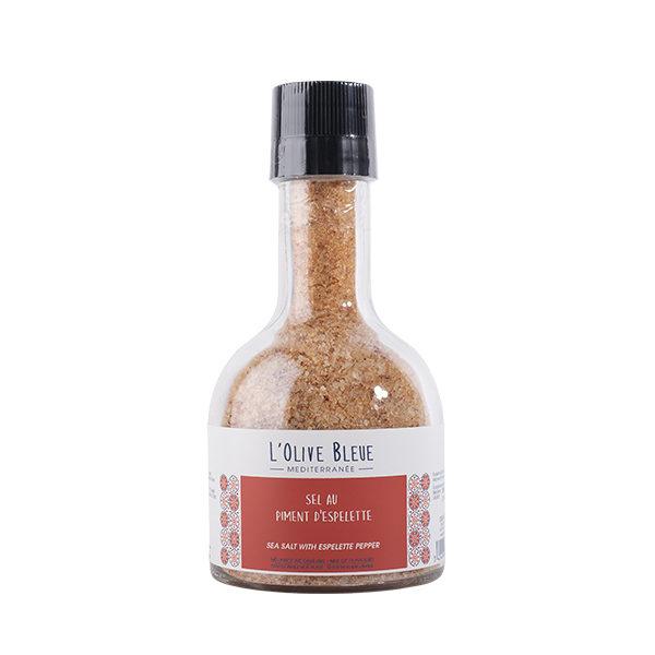 moulin bouchon broyeur sel au piment d'Espelette 300g