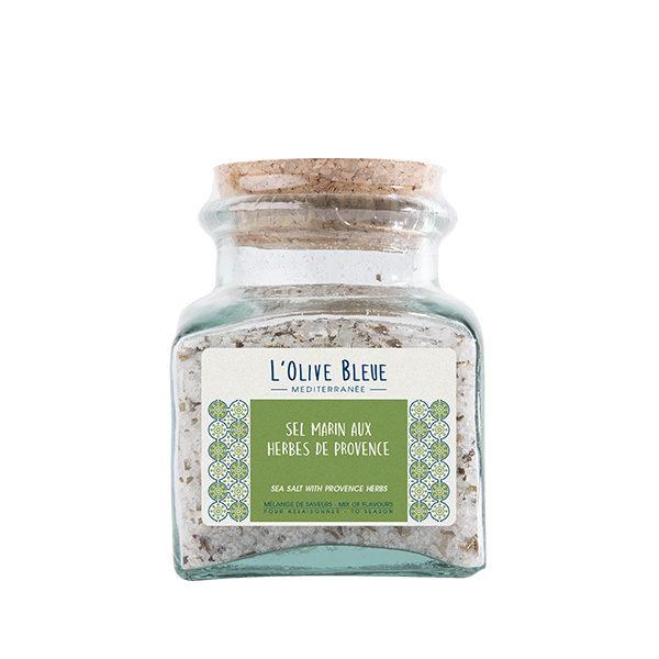 pot en verre sel marin aux herbes de provence 240g