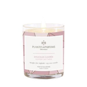 Bougie Parfumée 180g - Douceur Cuivrée