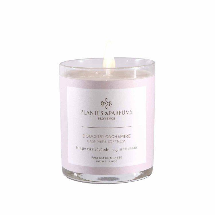 bougie-180g-douceur-cachmire - Plantes&parfums