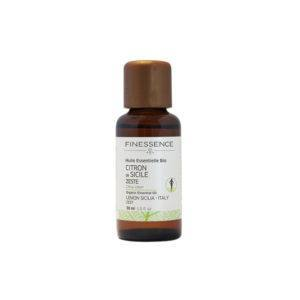 Lemon Zest from Sicilia Organic Essential Oil 30 ml