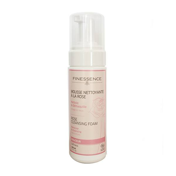 Delicate Cleansing Foam with Organic Rose