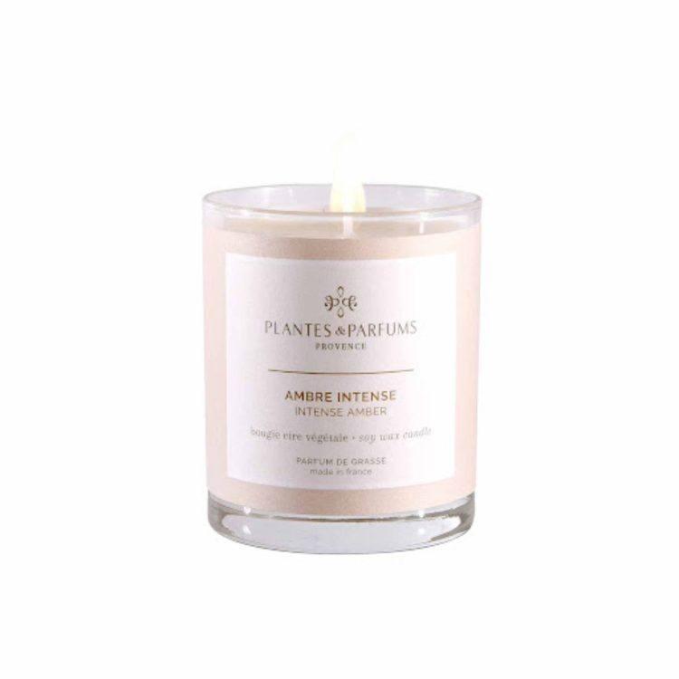 Bougie Ambre intense - Plantes&parfums